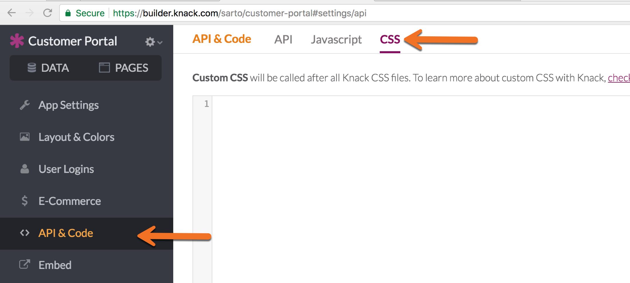 Knack Developer Docs